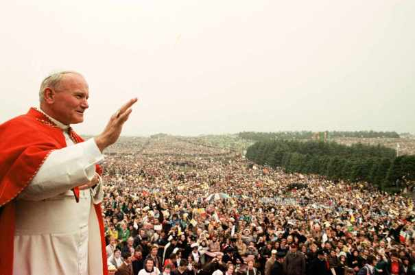 FILE PHOTO POPE JOHN PAUL II